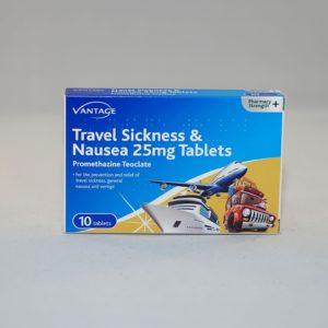 Vantage Travel Sickness Tablets