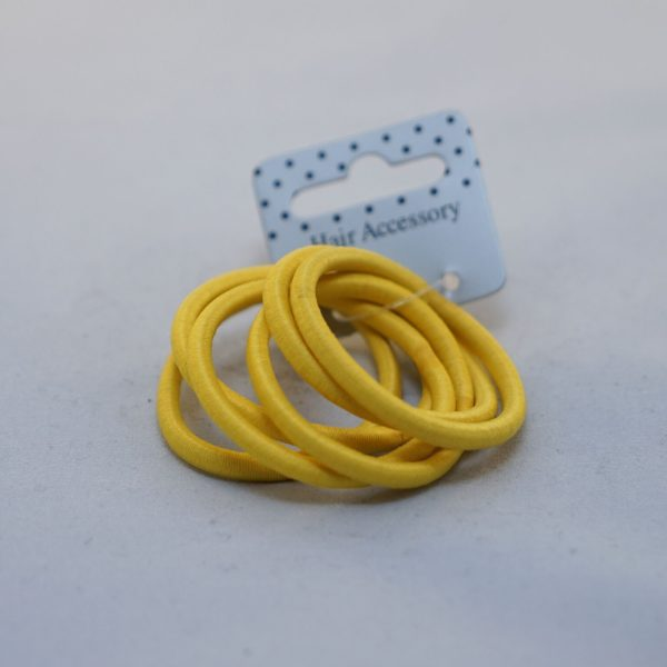 Yellow Hair Bobbles