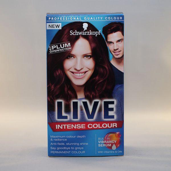 Schwarzkopf Live Intense Colour Plum Perfection