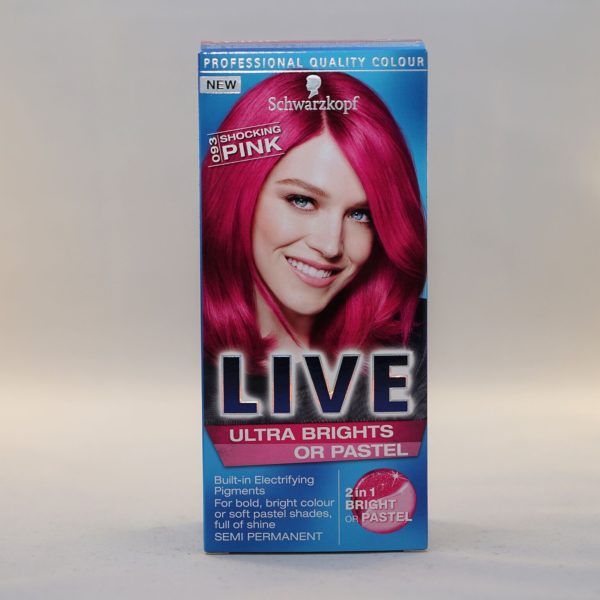 Schwarzkopf Live Ultra Brights or Pastel Shocking Pink
