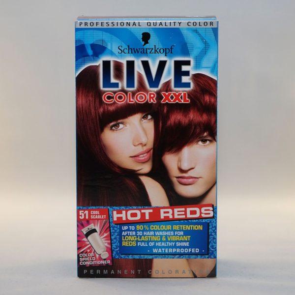 Schwarzkopf Live Color XXL Cool Scarlet
