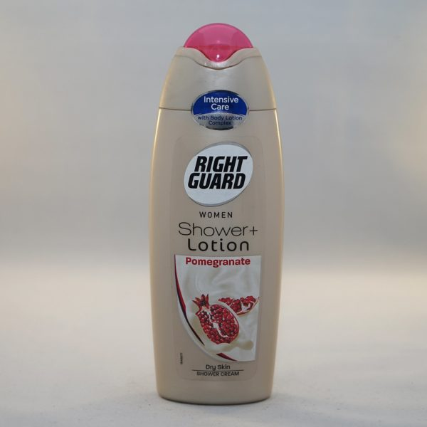 Right Guard Shower + Pomegranate Shower Lotion