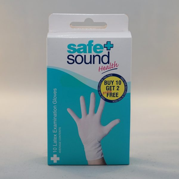 Safe and Sound Latex Gloves