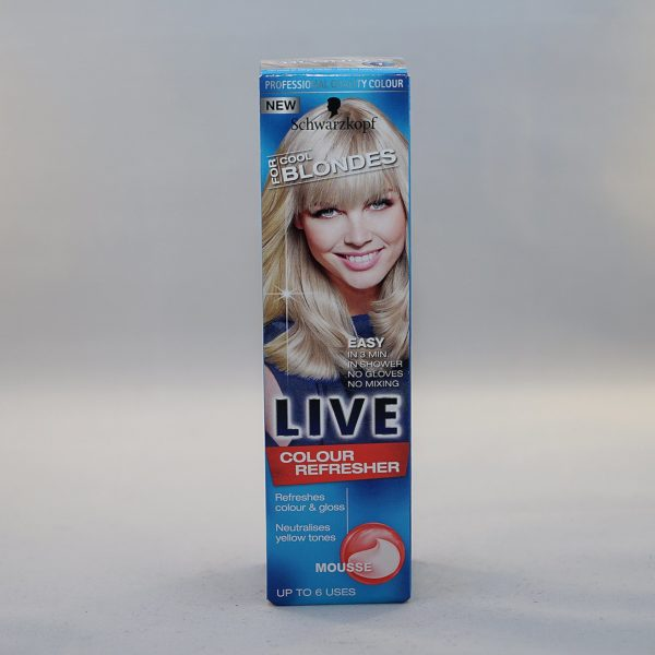 Schwarzkopf Live Cool For Blondes Colour Refresher
