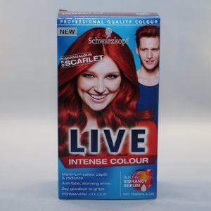 Schwarzkopf Live Scandalous Scarlet Intense Colour