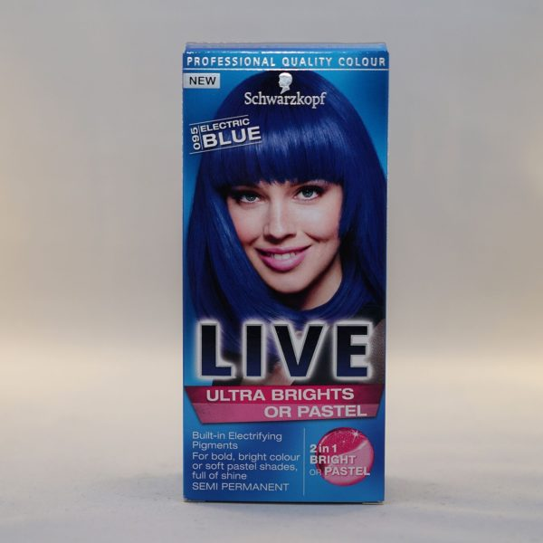 Schwarzkopf Live Ultra Brights Or Pastel Electric Blue