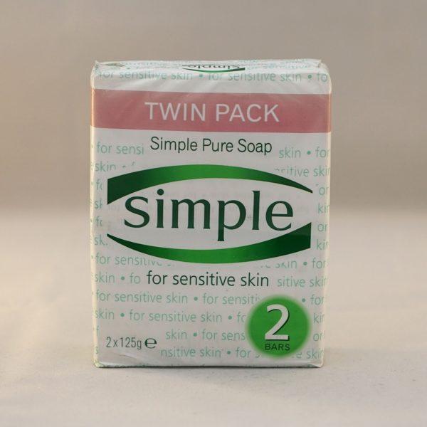 Simple Pure Soap Bar for Sensitive Skin