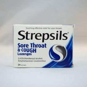 Strepsils Sore Throat & Cough Lozenges