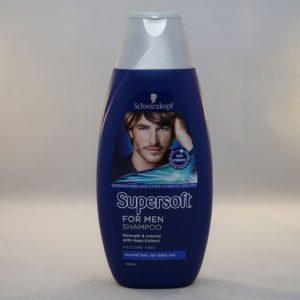 Schwarzkopf Supersoft For Men Shampoo Strength & Volume