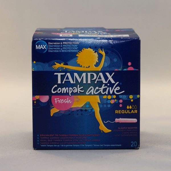 Tampax Compak Active Fresh Normal Tampons