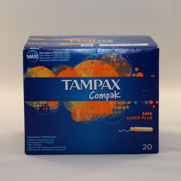 Tampax Compak Super Plus Tampons