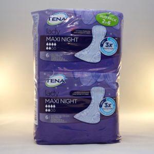 Tena Lady Maxi Night Duo Pack