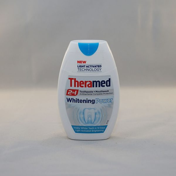 Theramed Whitening Power 2 in 1 Toothpaste and Mouthwash