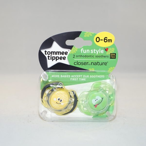 Tommee Tippee Closer to Nature Orthodontic Soothers