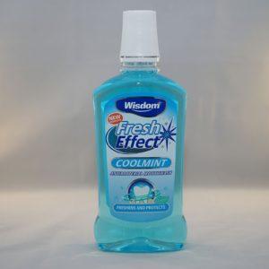Wisdom Fresh Effect Fresh Mint Mouthwash