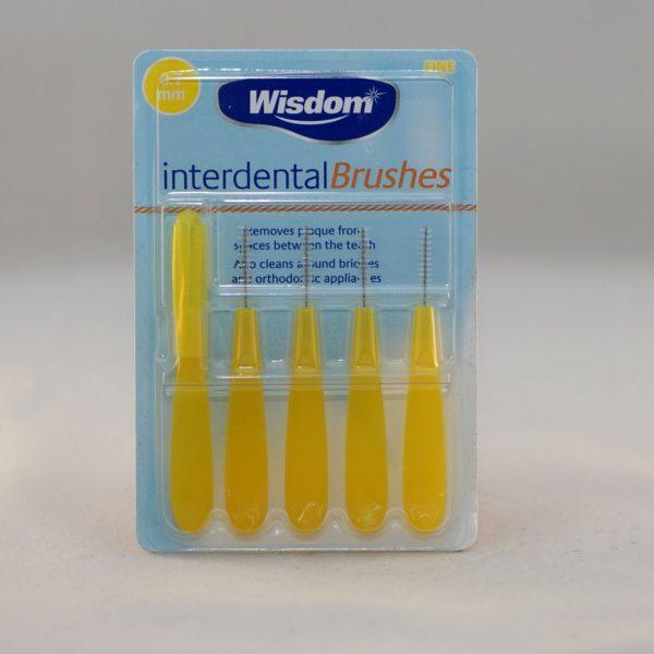 Wisdom Inter dental Brushes Fine