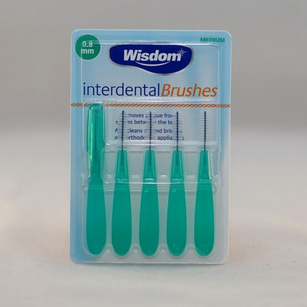 Wisdom Inter dental Brushes Medium