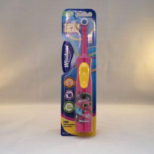 Wisdom Spin Brush Kids Toothbrush